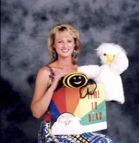 Cindy Cook and Baby Owlie