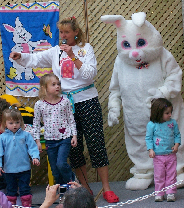 Cindy Cook and the Easter Bunny
